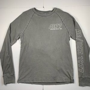American Eagle Long Sleeve Shirt Mens Size M